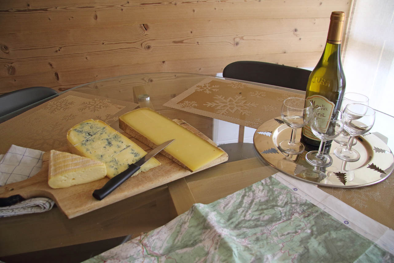 Résidence de vacances à Mijoux, Mont Jura